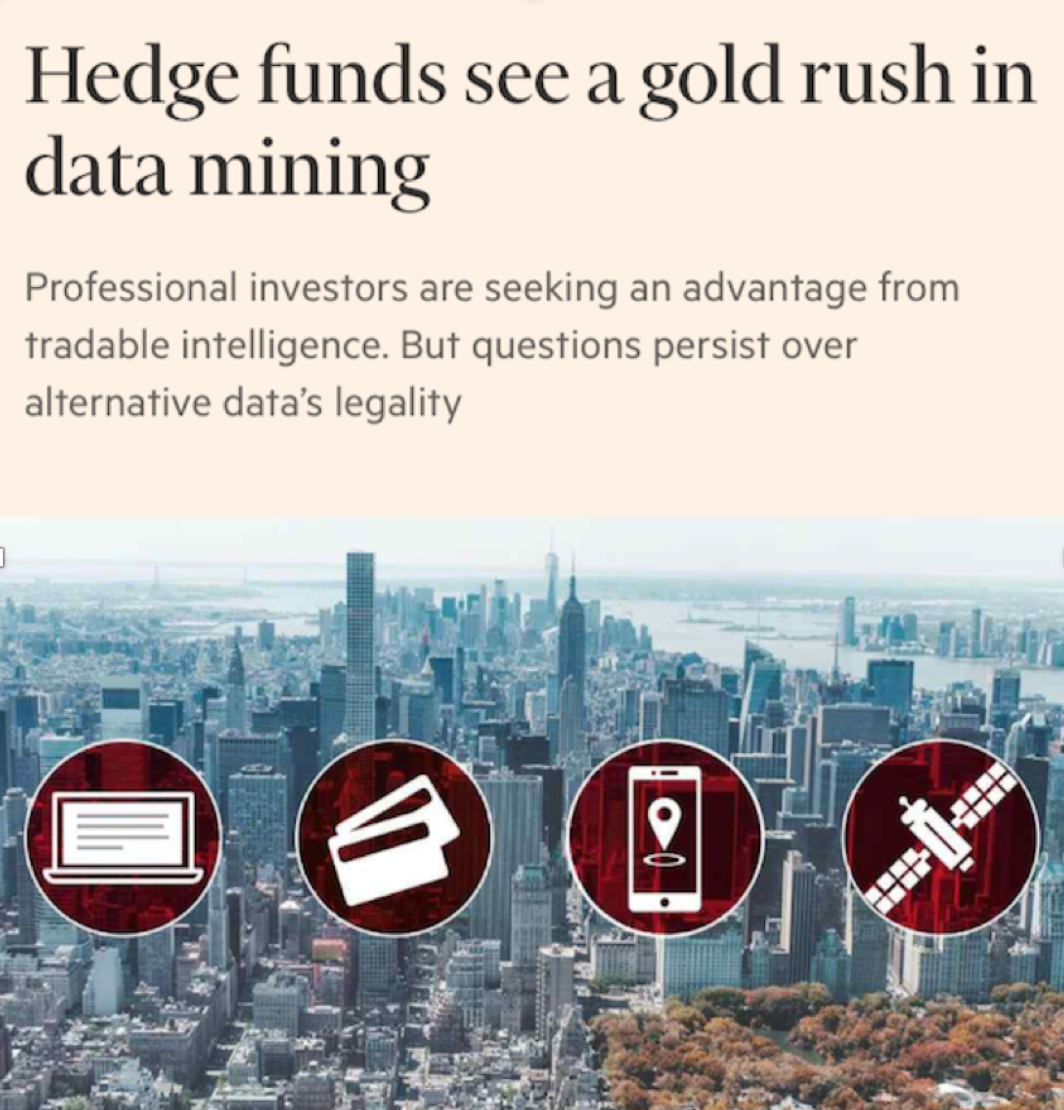Hedge funds see a gold rush in data mining