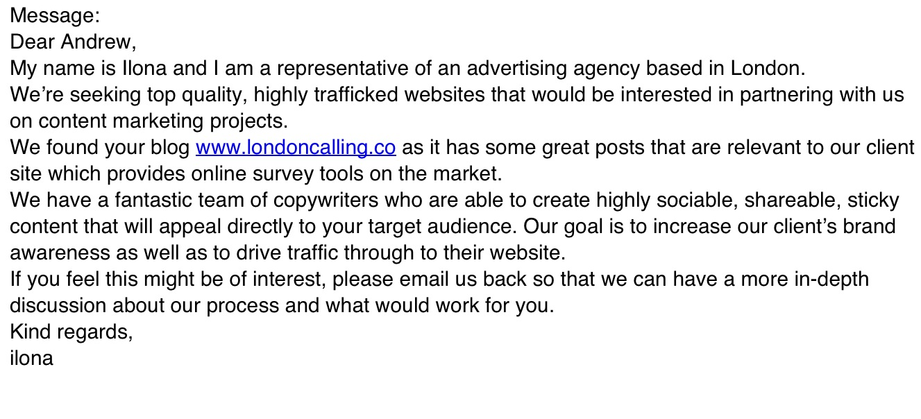 Some SEO agencies are illiterate